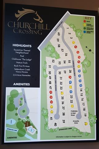 Site Plan Churchill Crossing Cumming GA