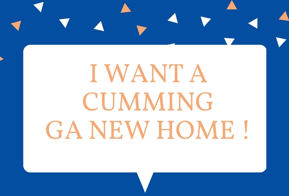New Homes Cumming GA